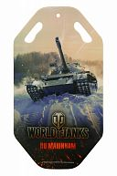 "Ледянка ""World of Tanks"" 92х0,5см, арт.Т58180"